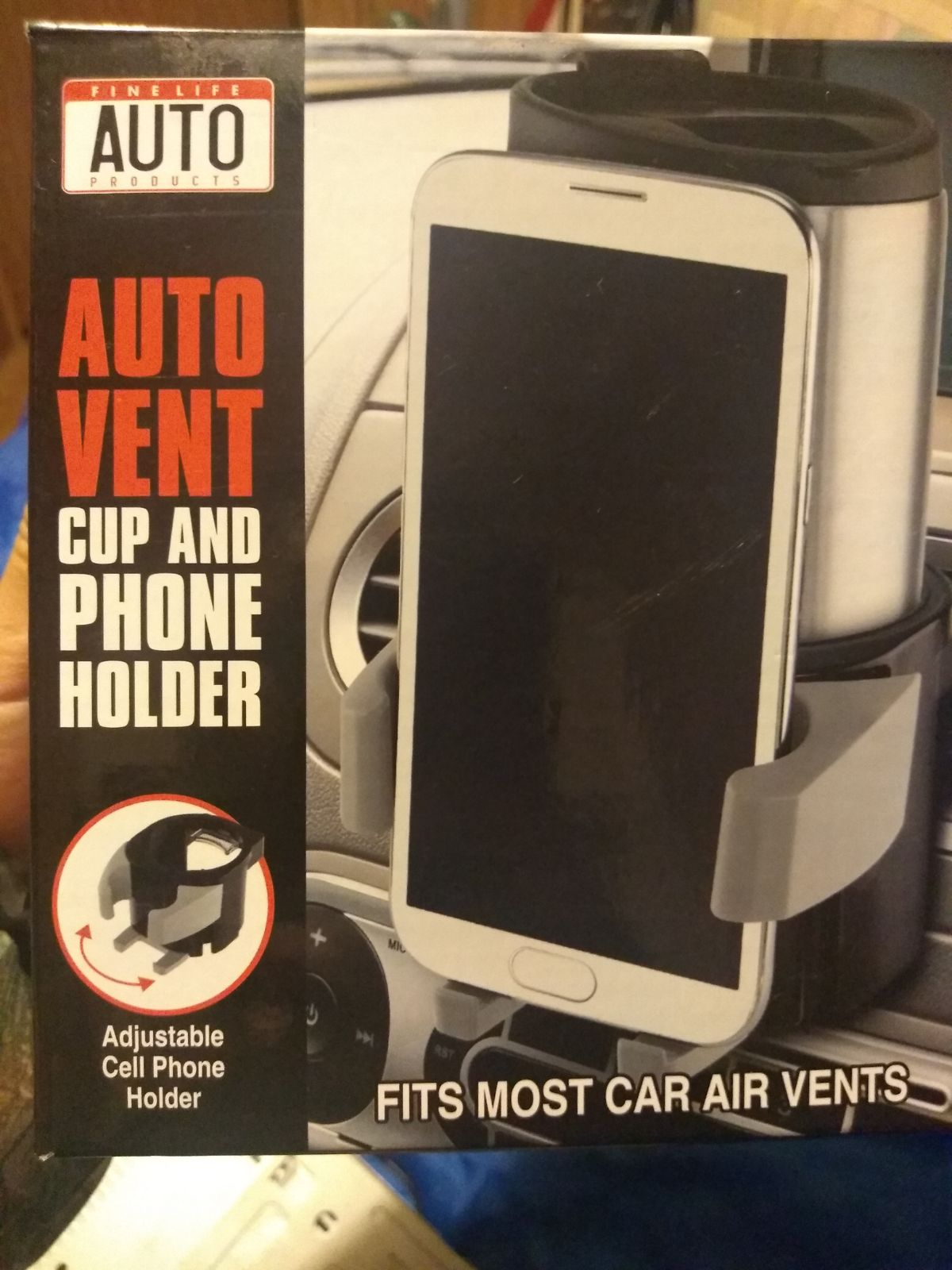Cup holder cellphone