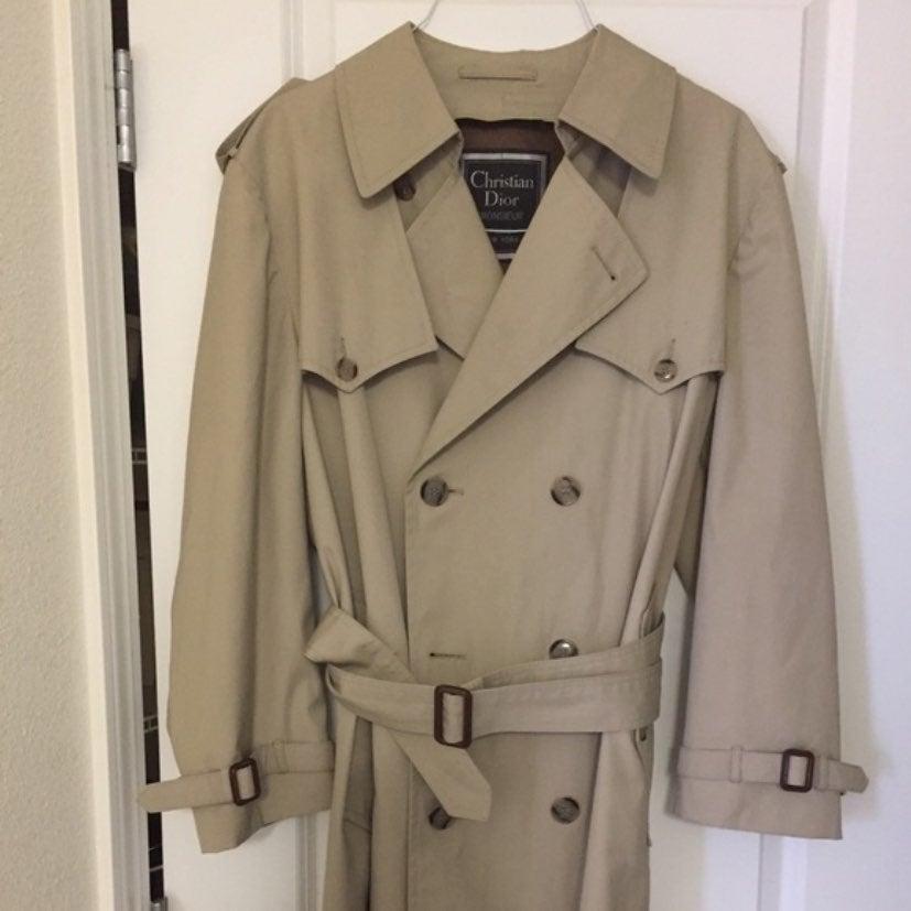 Vintage Men Christian Dior trench coat