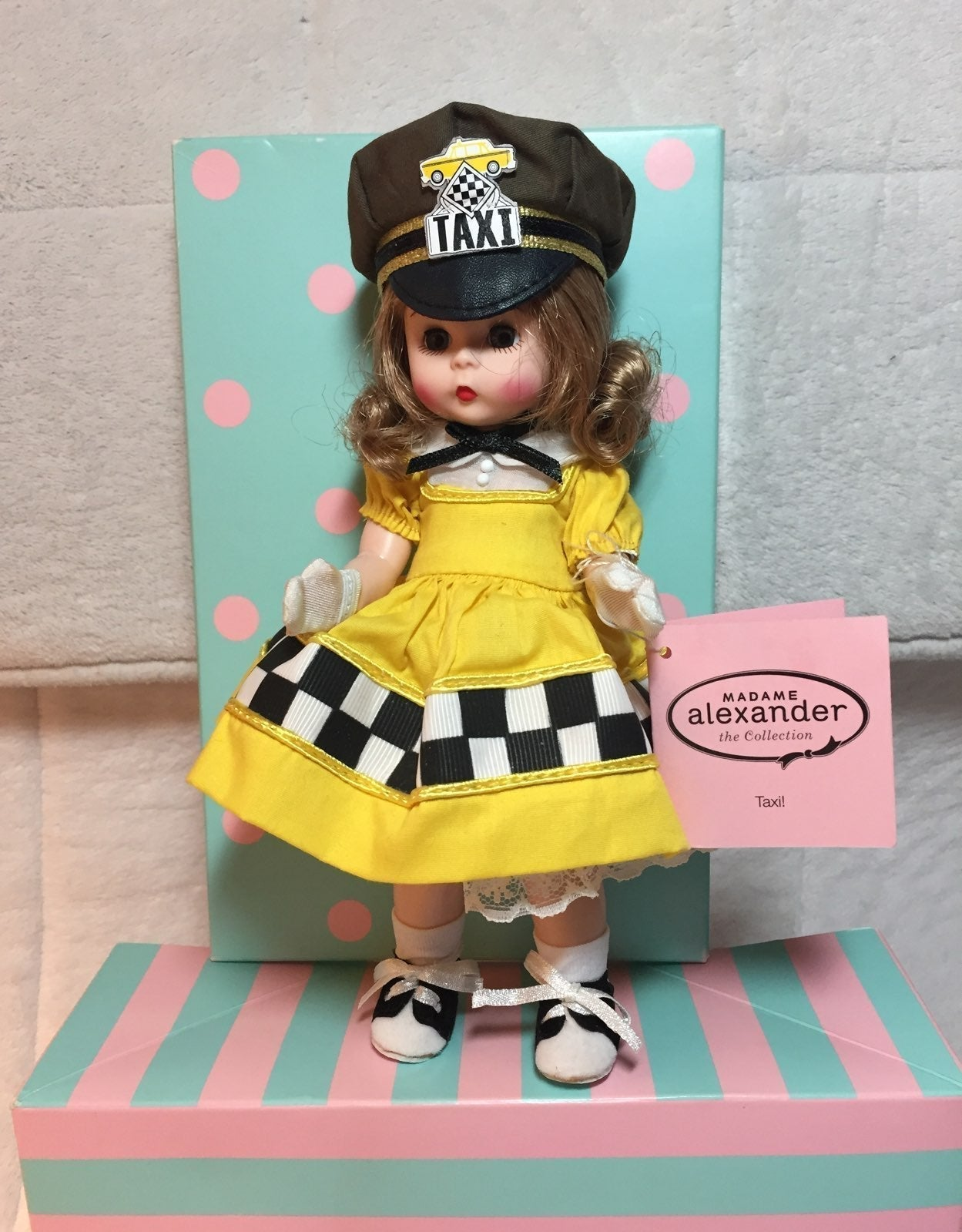 """Madame Alexander """" Taxi"""" Doll- NEW"""