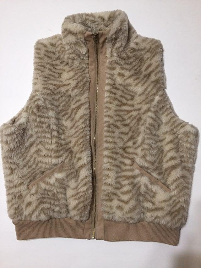 Faux Fur Vest Size 2X