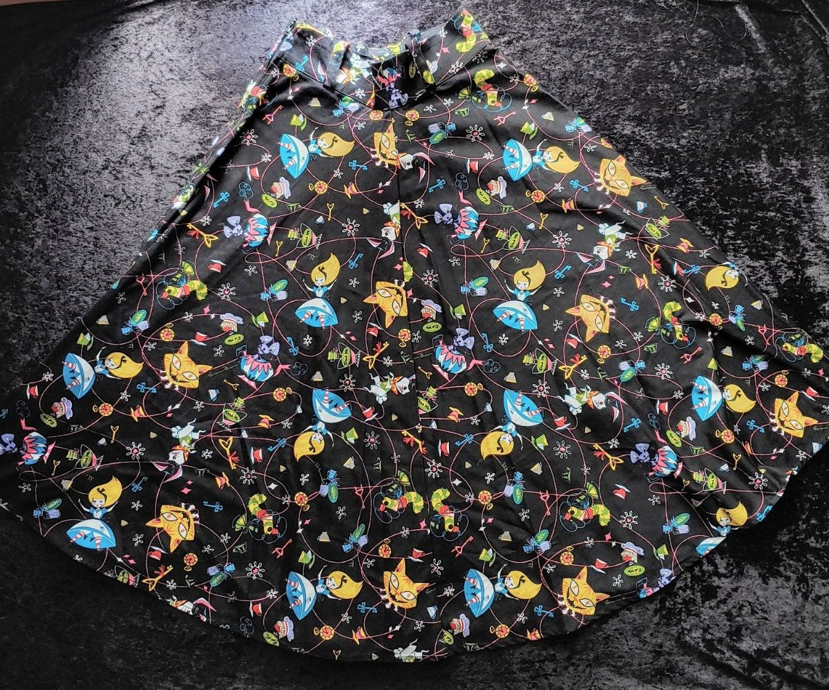 Pinup Couture Alice In Wonderland skirt