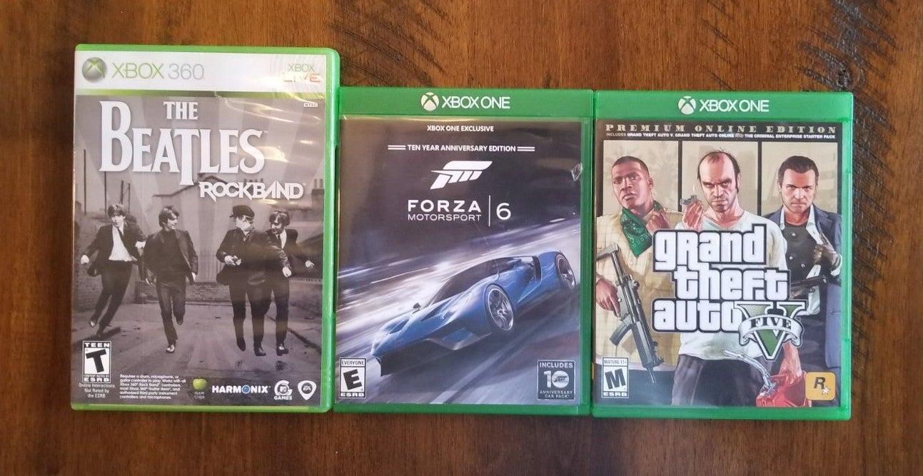 Xbox 360/one game bundle