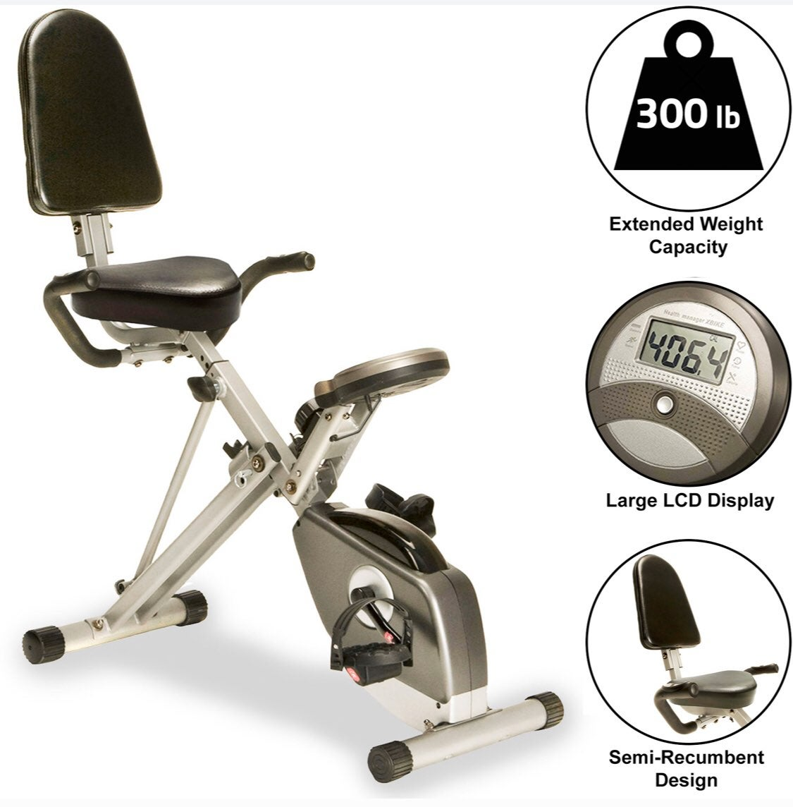 Stationary Exercise Bike with Pulse