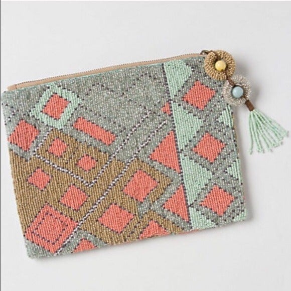anthropologie jasper & jeera clutch