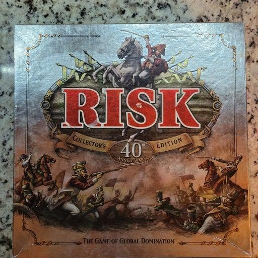 Risk 40th Anniversary Edition
