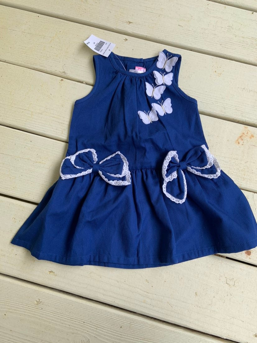 Toddler butterfuly dress (2t)