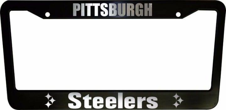 2 Pittsburgh Steelers LicensePlate Frame