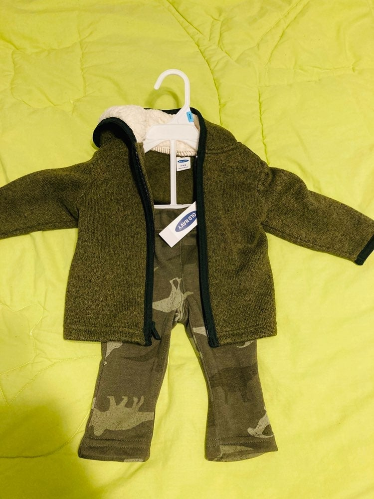 Old Navy pants ans jacket baby 3-6 month