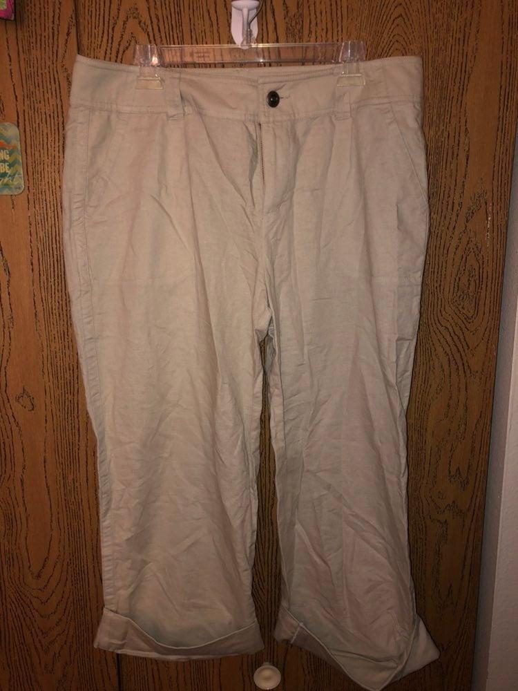 Womens linen pants 16l