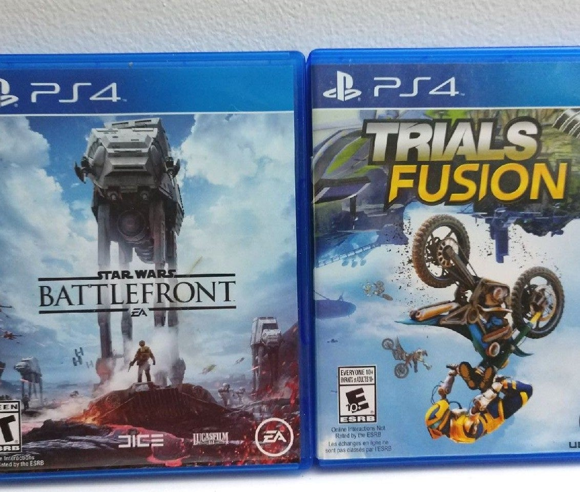 PS4 Star Wars Battlefront & Trials Fusio