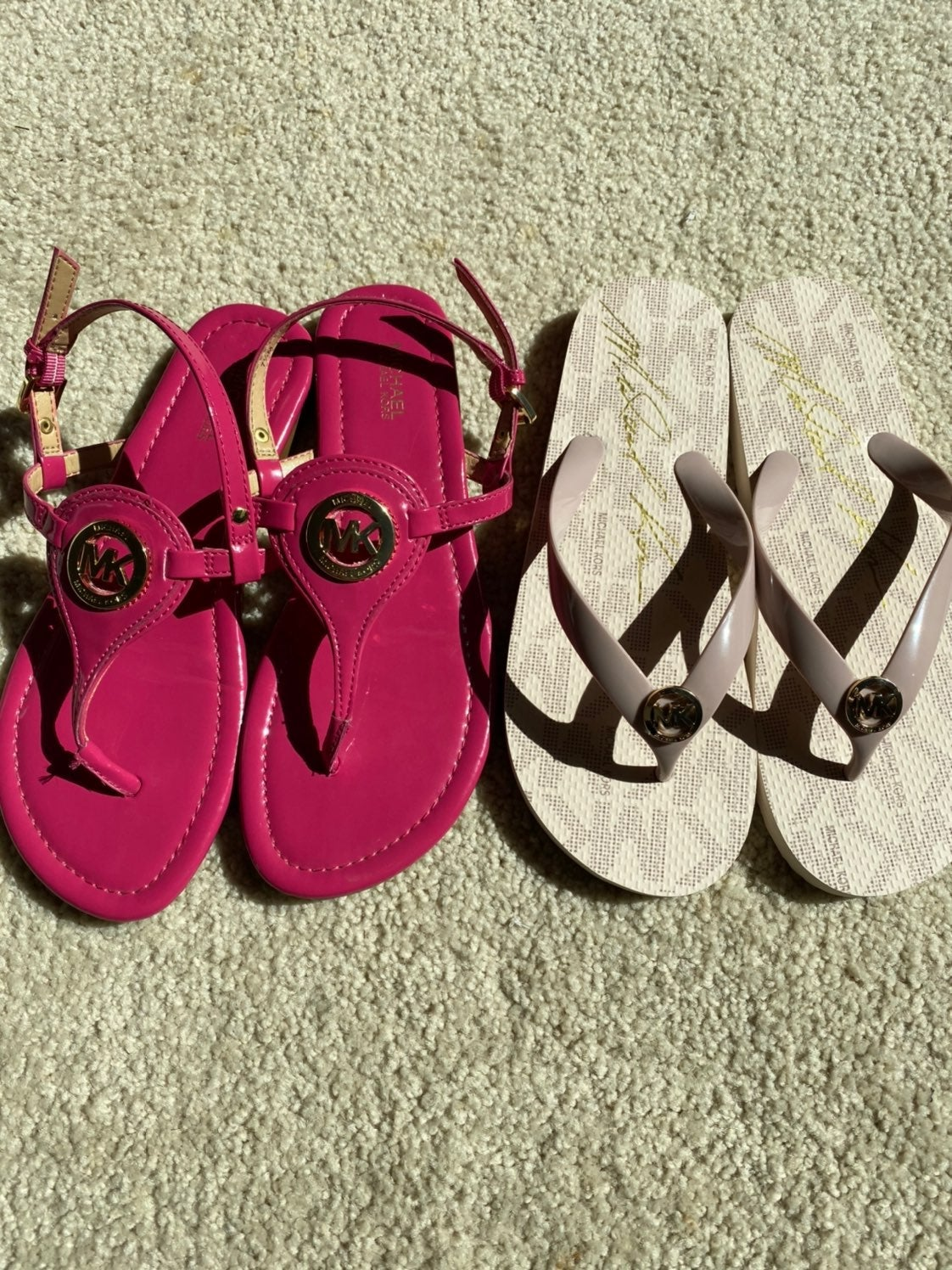 Michael Kors Sandals and Slippers bundle