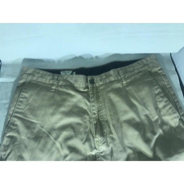 Volcom Khaki Shorts Mens Sz 36