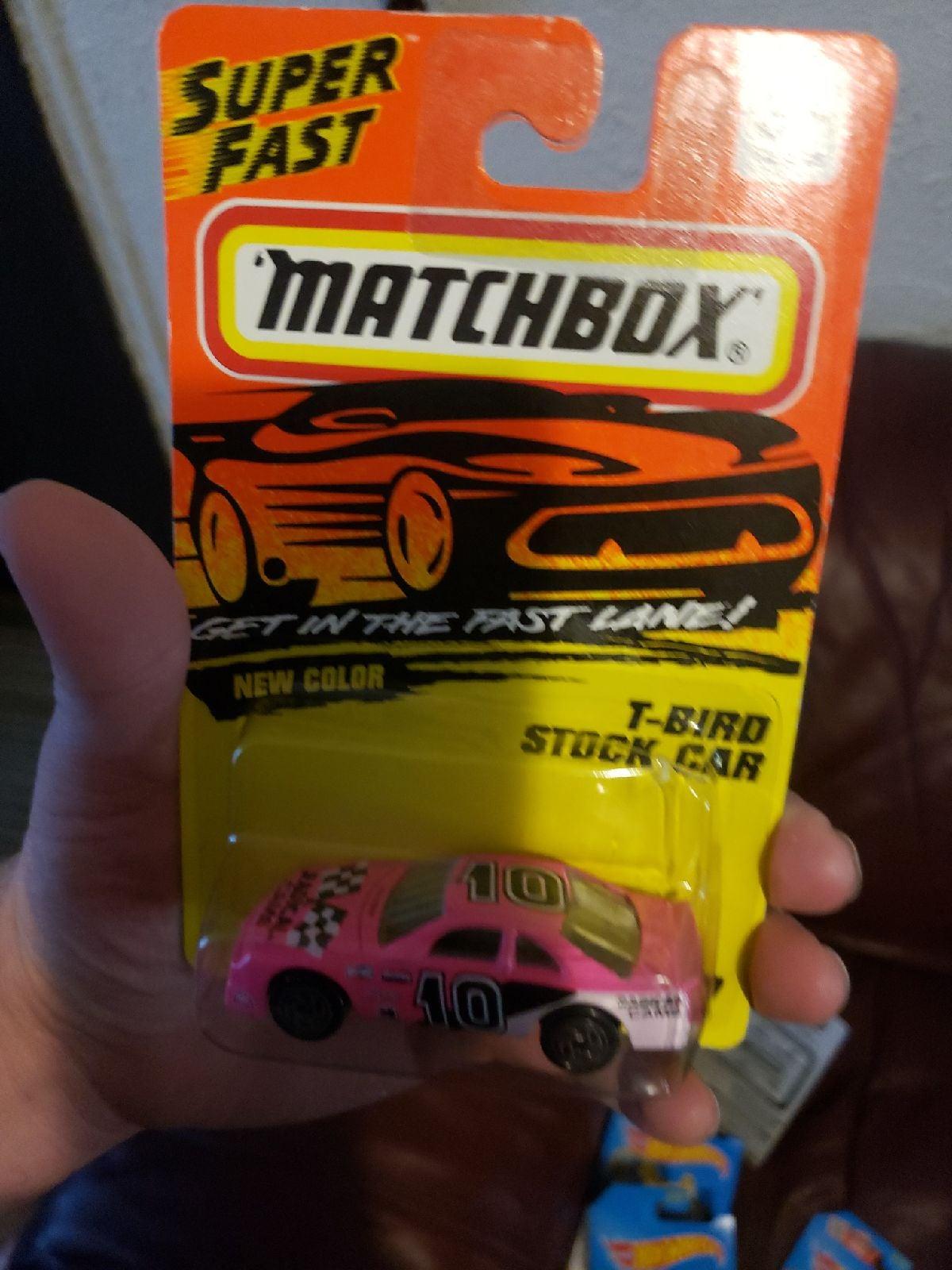 Matchbox T Bird Stock Car