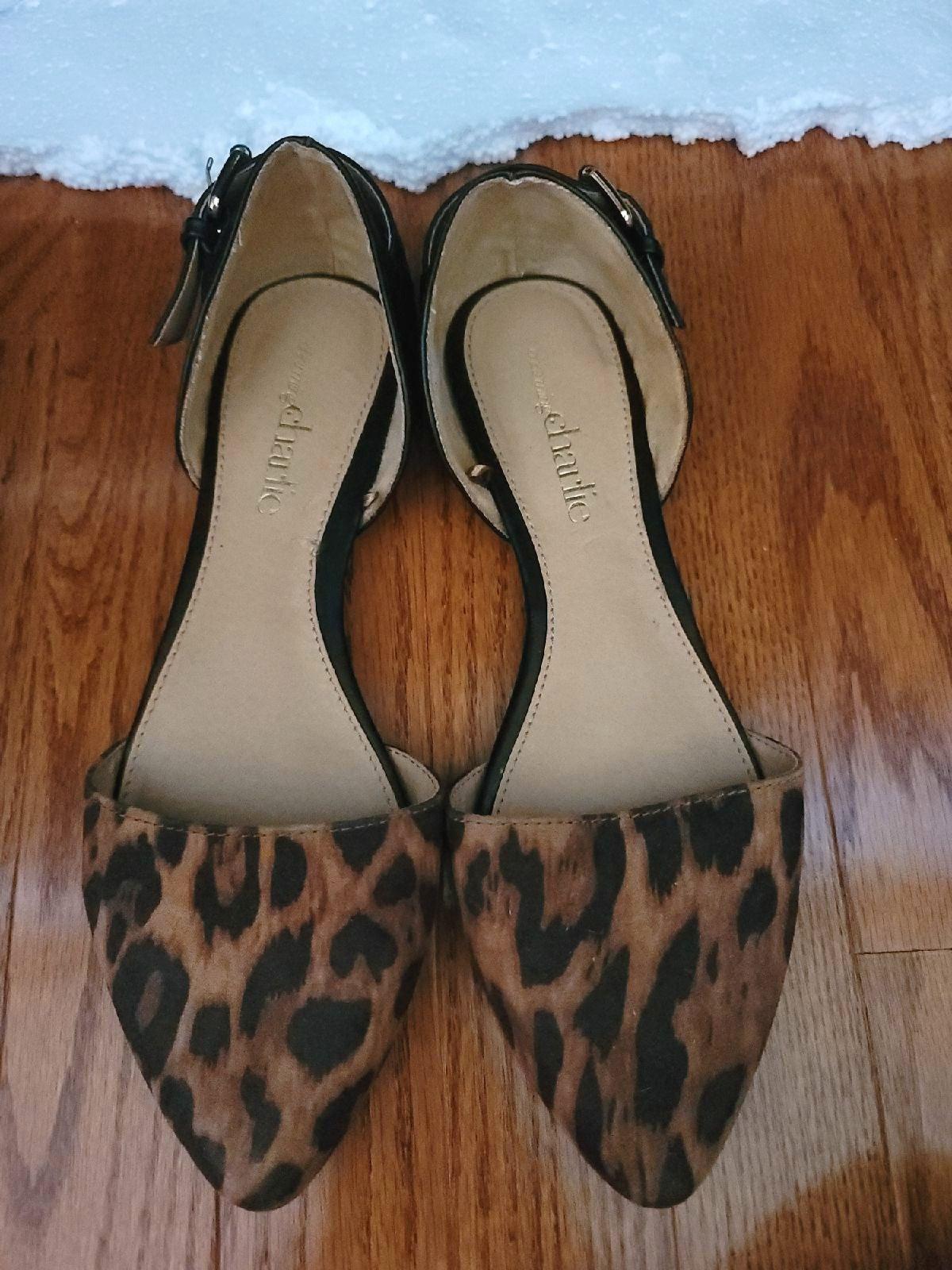 Charming Charlie Leopard Flats