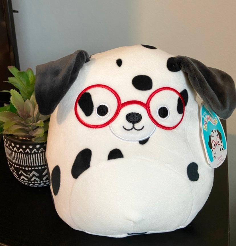 "NWT Dalmatian Dustin Squishmallow 8"""
