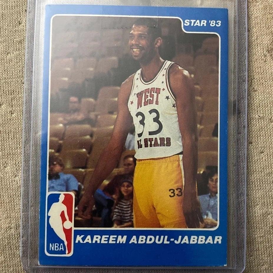 Star '83 Kareem Abdul-Jabbar All Star