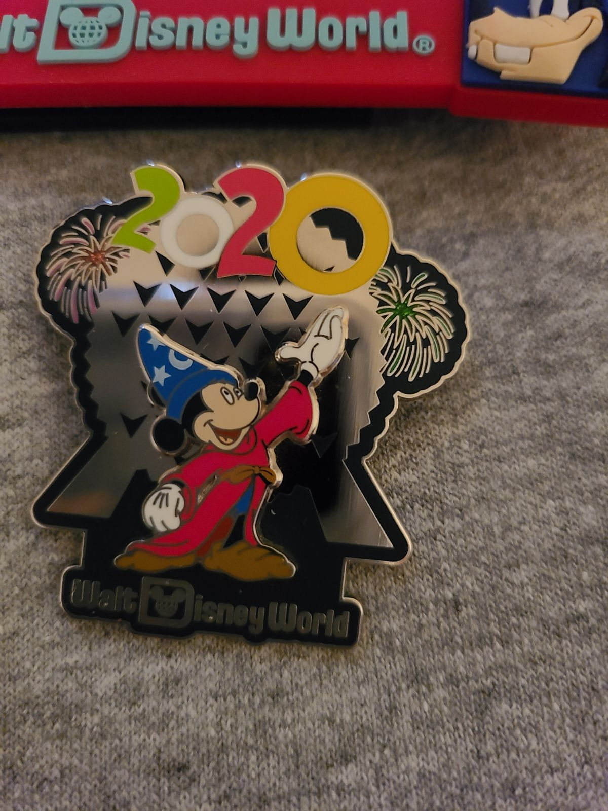 Sorcerer Mickey 2020 Disney Parks Pin