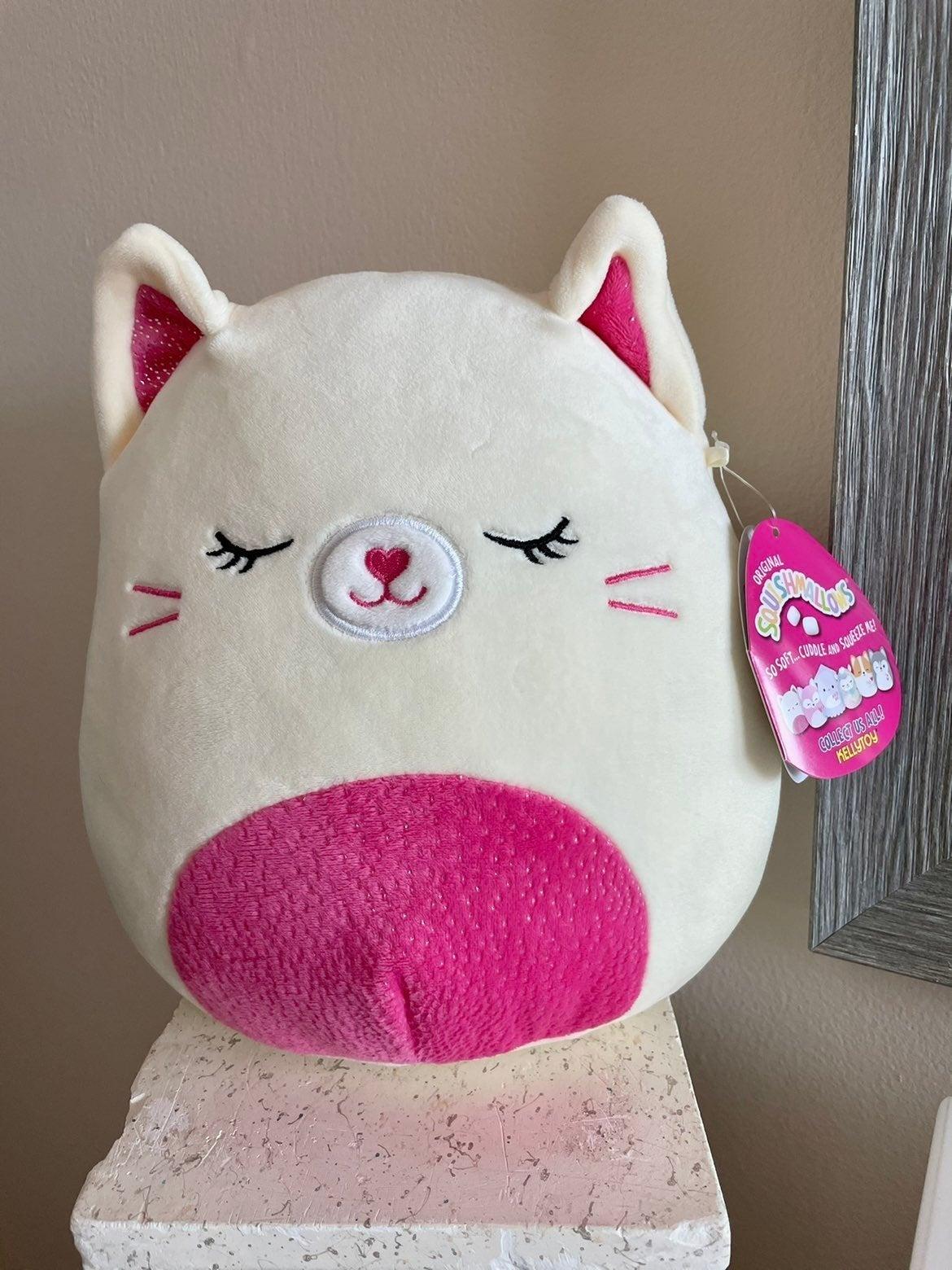 Squishmallow Carmen the Cat NWT