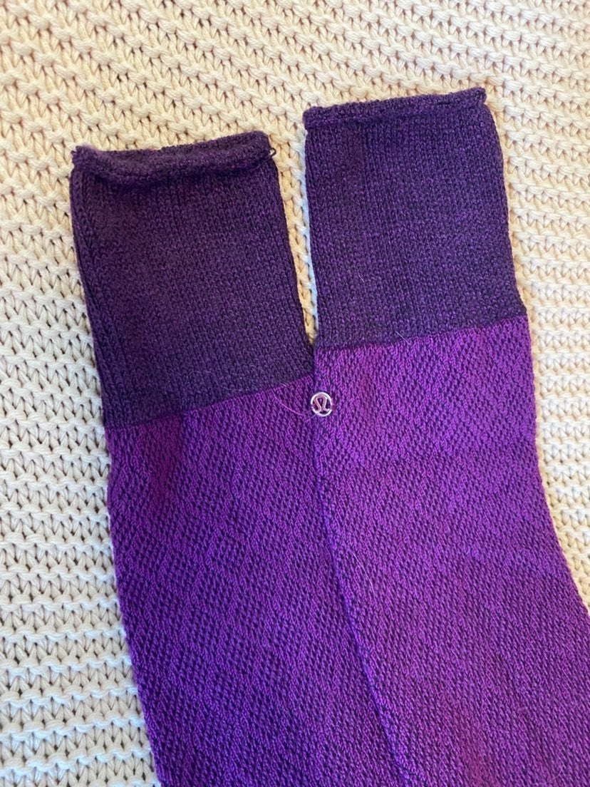Lululemon Yoga Leg Warmer Socks