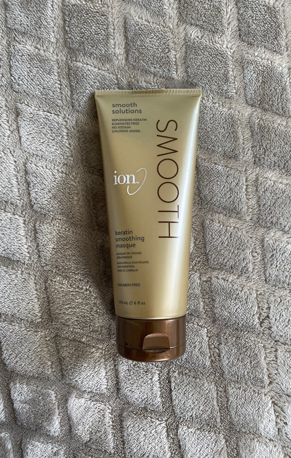 Ion Keratin Smoothing Masque smooth solu