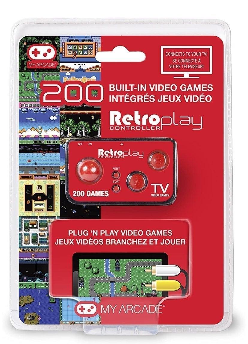 Retro Play 200 Arcade Video Games