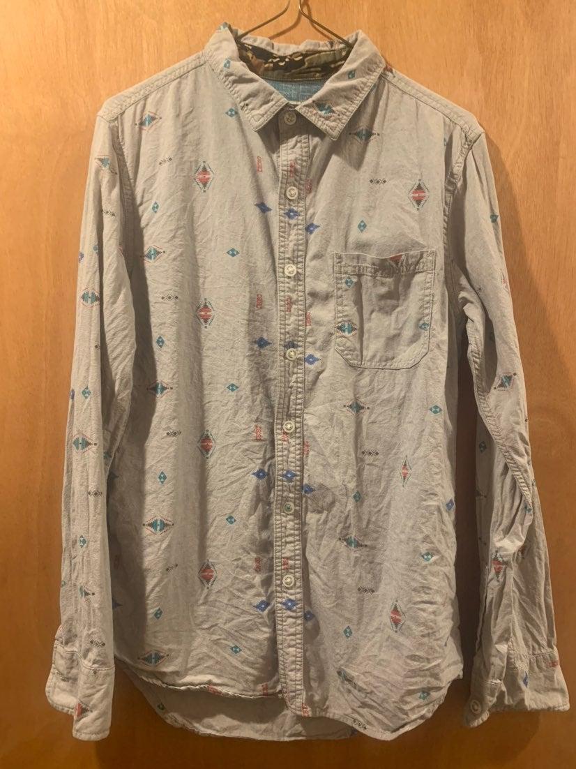 Modern Amusement button down shirt