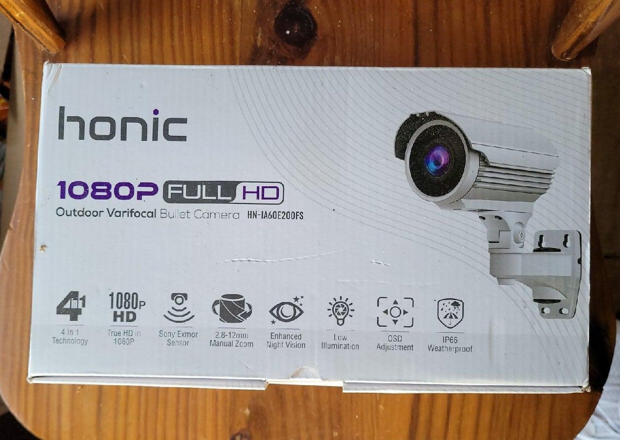 Honic 1080 HD outdoor bullet camera