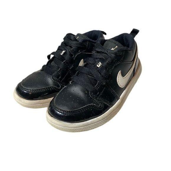 Air Jordan Youth Black Classic Sneakers
