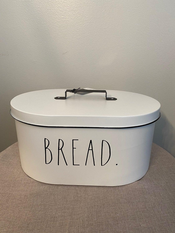 Rae Dunn Farmhouse Metal Bread box