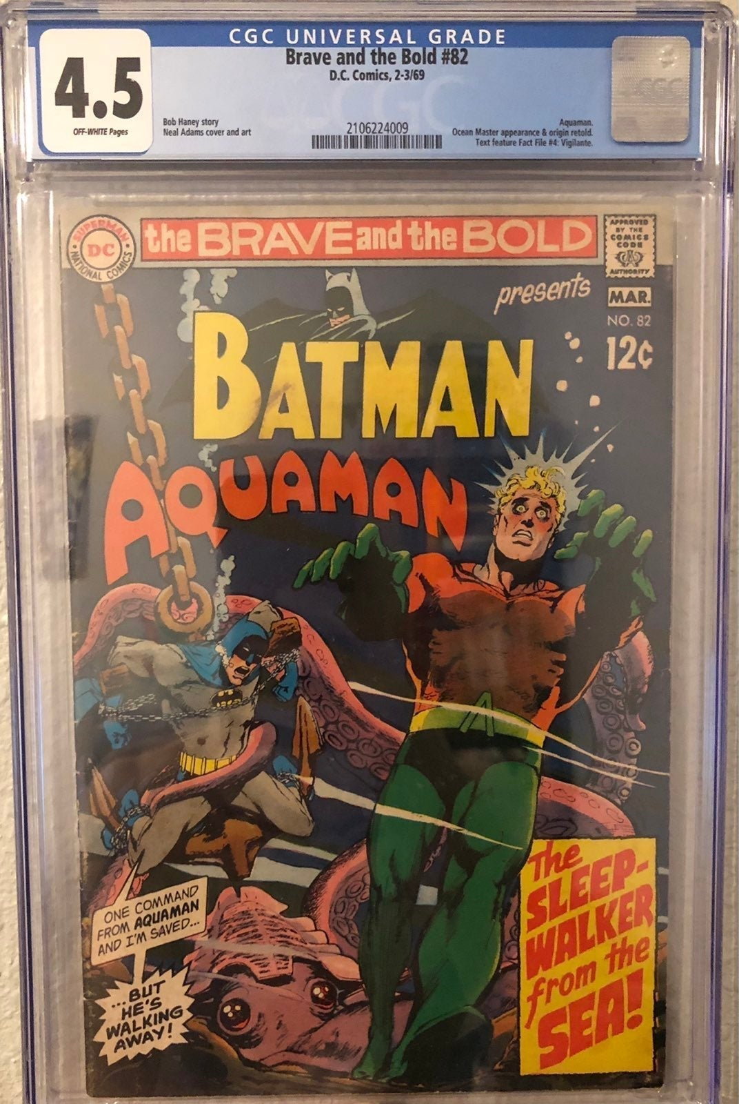 Brave And The Bold #82 CGC (1969) Comic