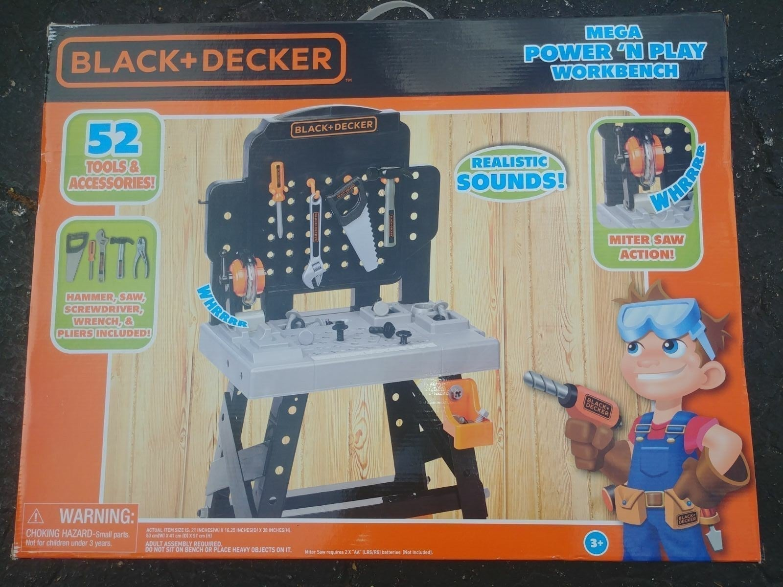 $$ BLACK & DECKER Might Power Work Bench
