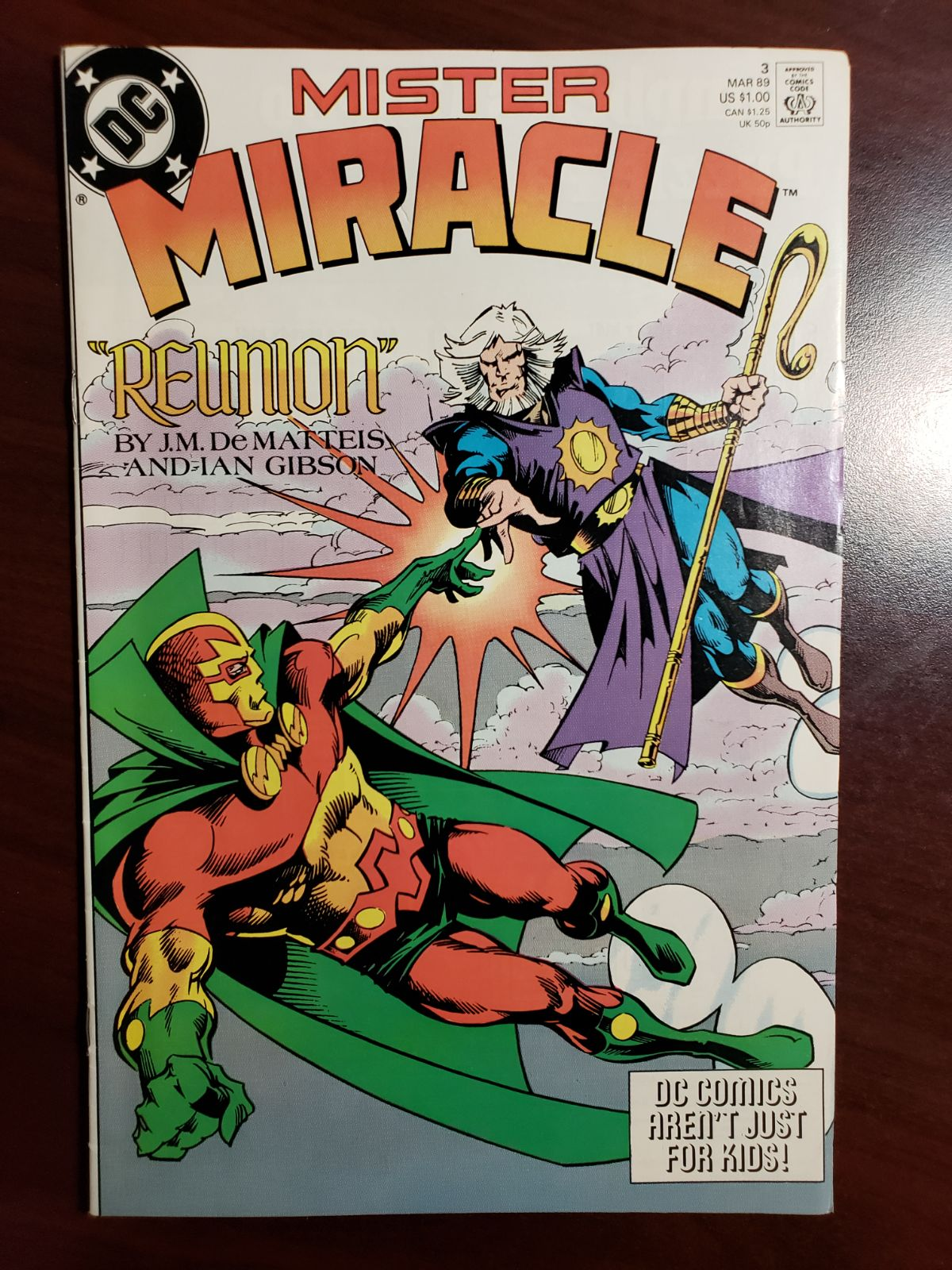 MR. MIRACLE - #3 - KIRBY'S CHARACTERS AR