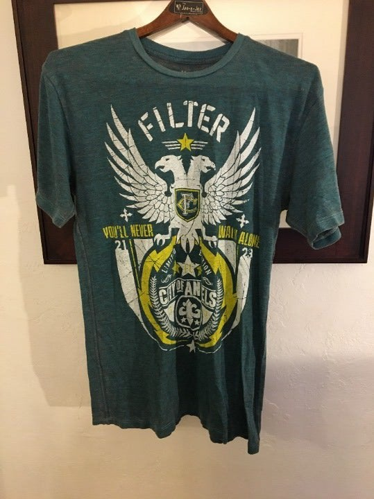 Filter Tri-Blend T-shirt Size M