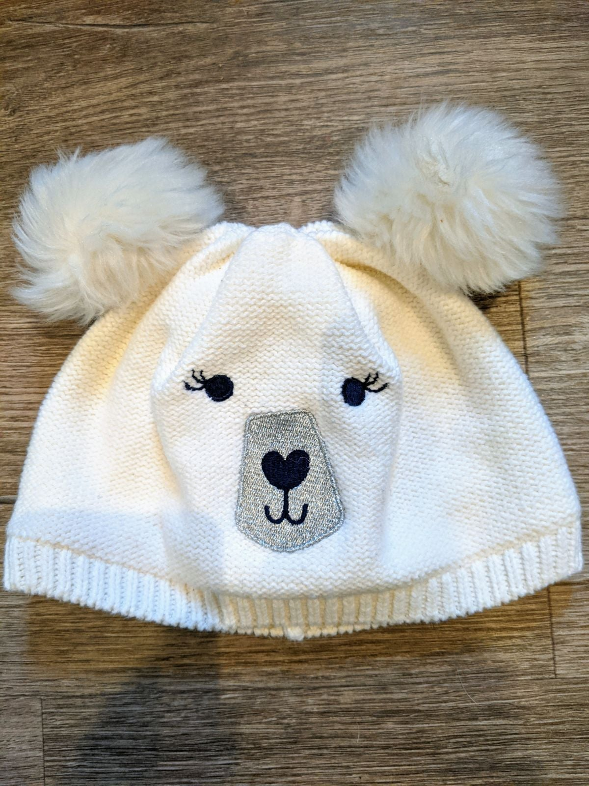 Gymboree Fuzzy Bear Winter Hat