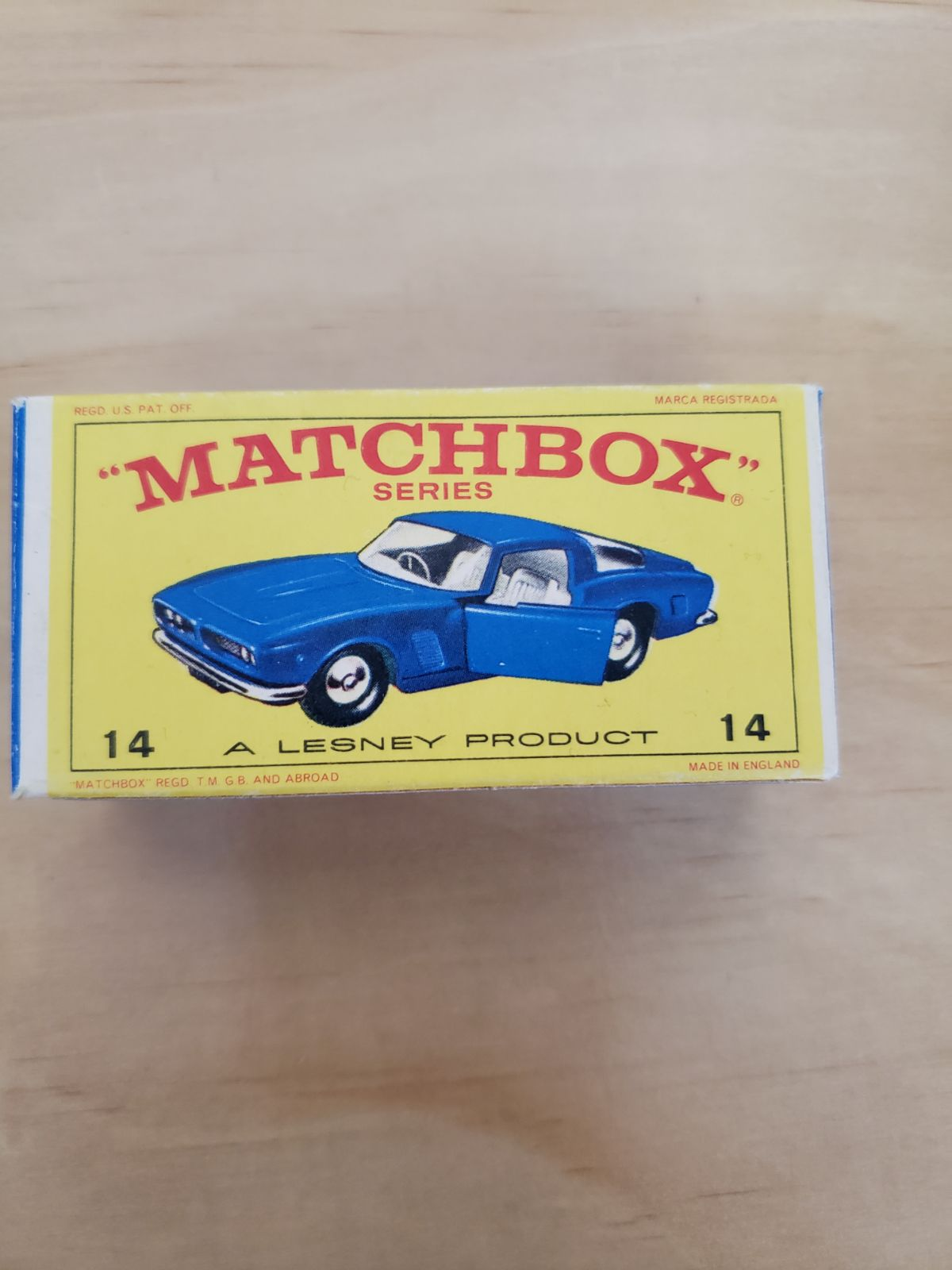 Matchbox Car Lot ISO GRIFO and Mercedes