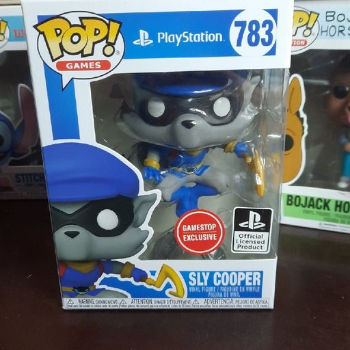Sly Cooper Funko Pop 783 Playstation