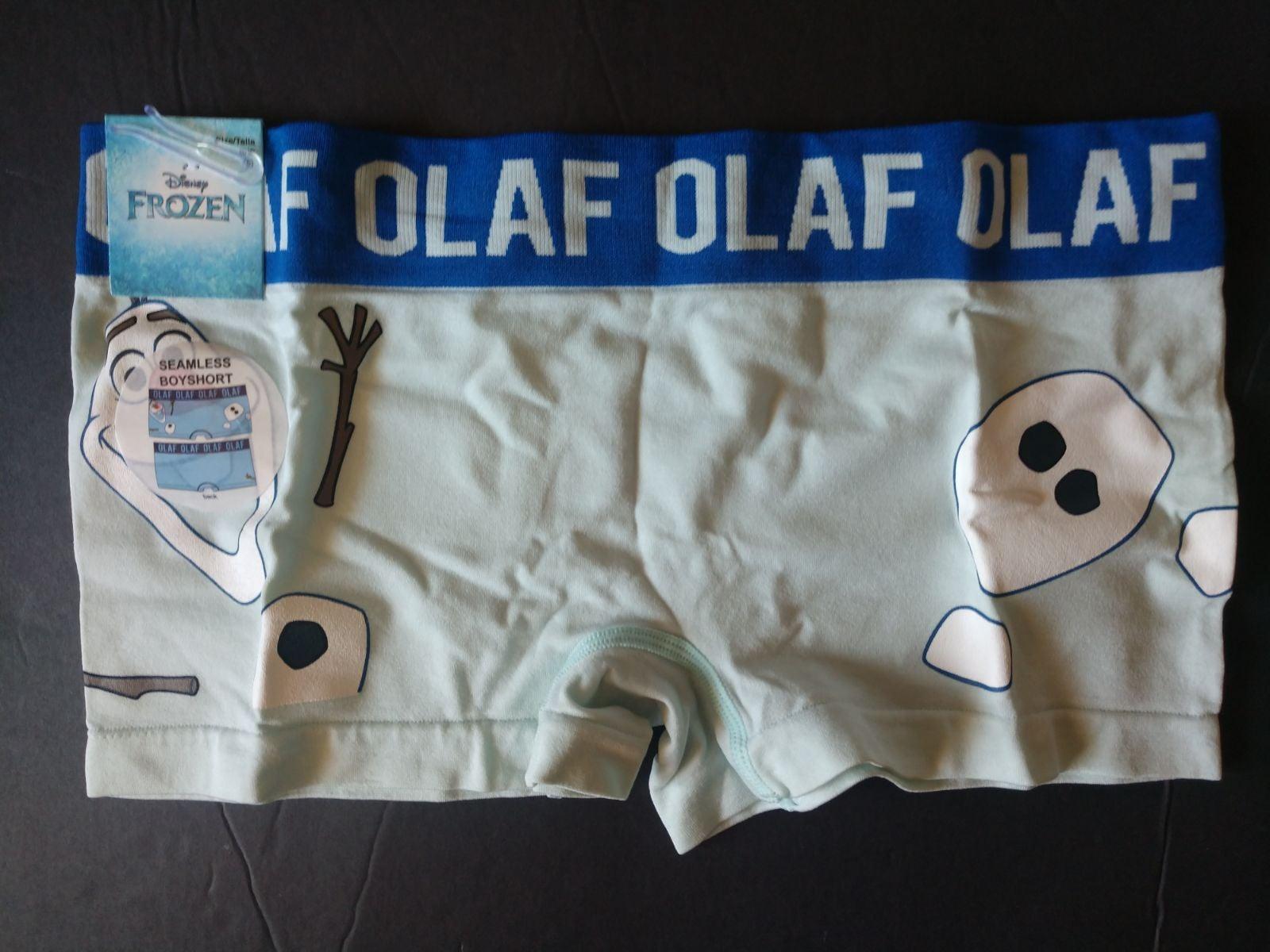 MEDIUM Frozen Olaf Boyshorts Panties