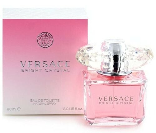 VERSACE BRIGHT CRYSTAL Perfume 3.0 oz wo