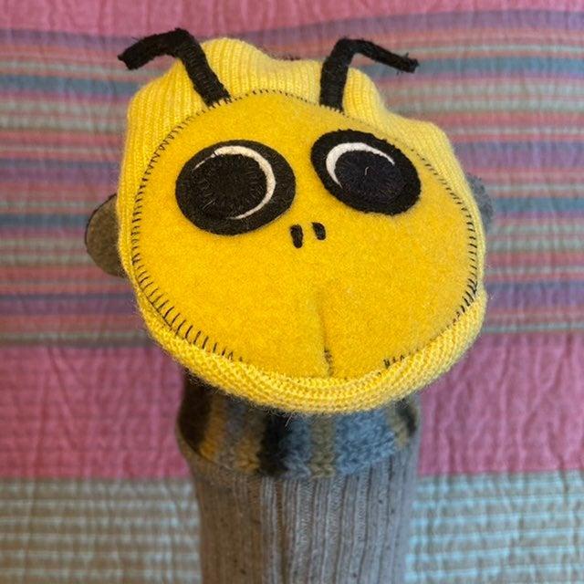 Felted Wool Handmade Hand Puppet