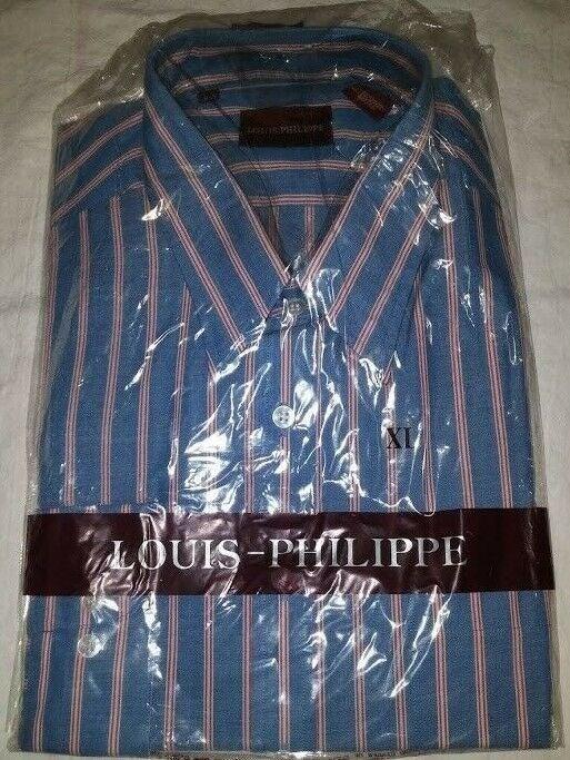 LOUIS PHILIPPE MENS BUTTON DOWN SHIRT XL