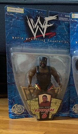 Mark Henry WWF Superstars Series 6