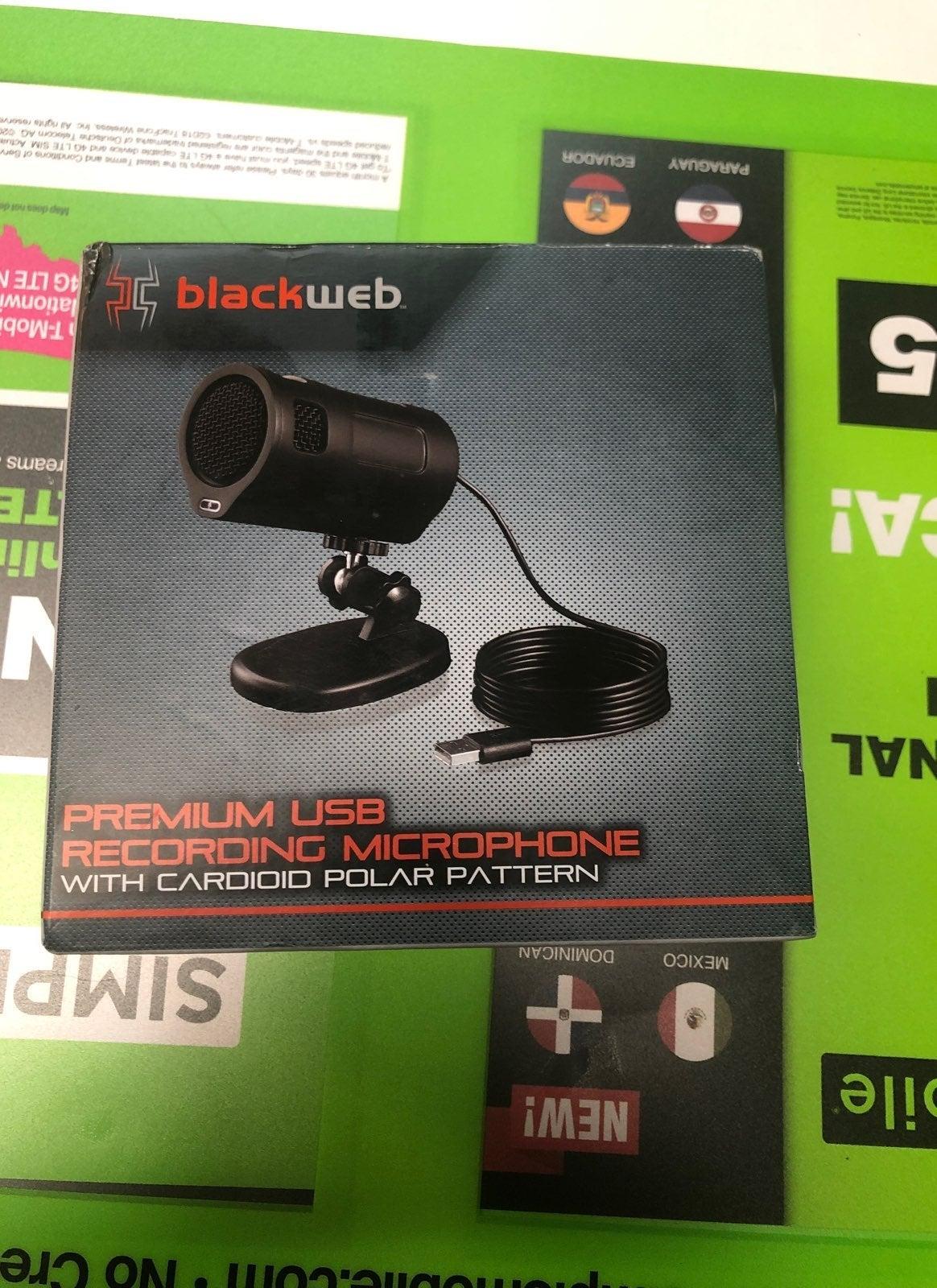 Premium Usb Recording Microphone