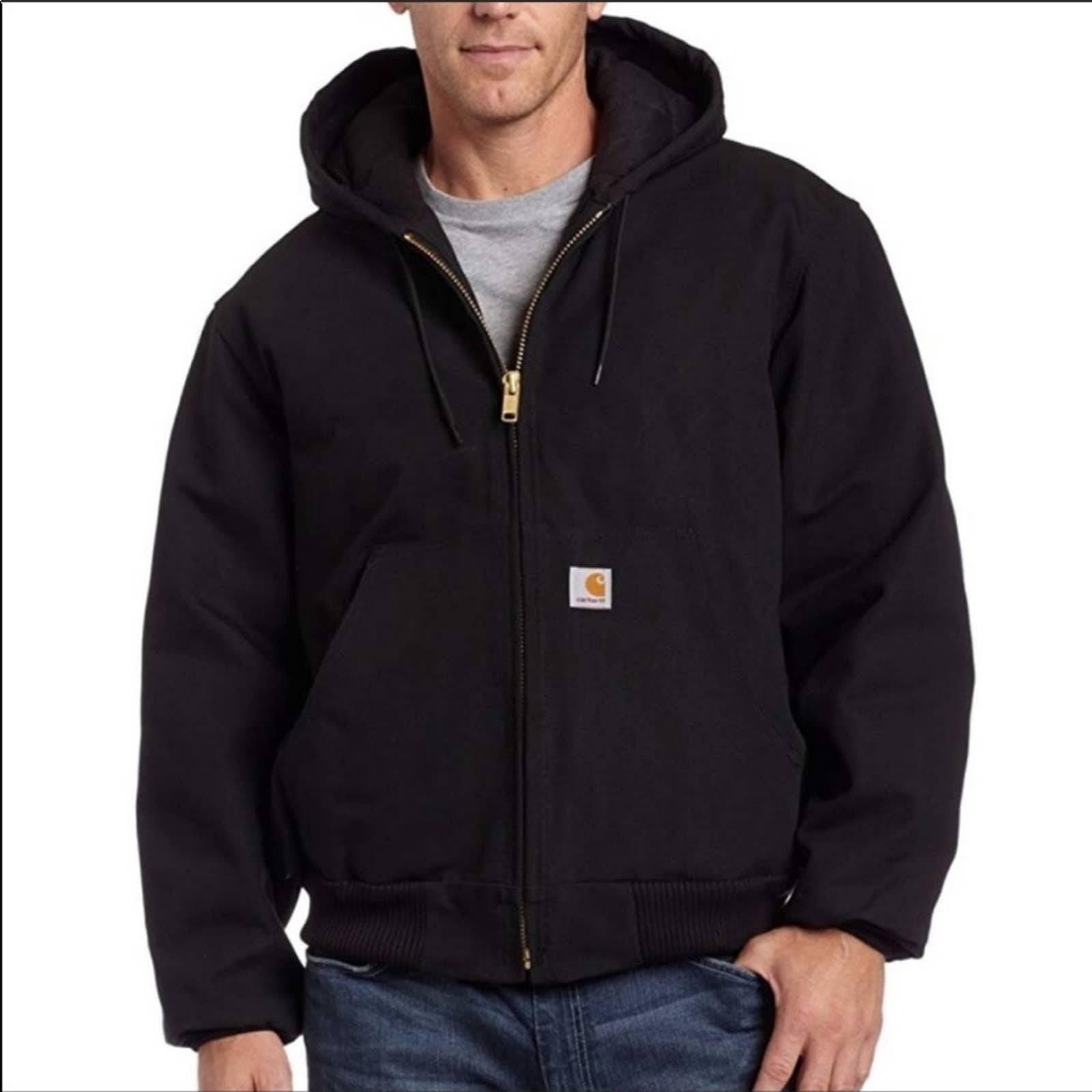 Carharrt Duck Active Jacket black 3XL