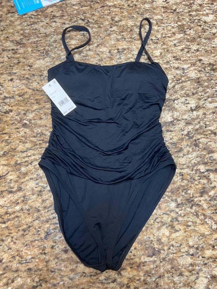 Nwt! Black swimsuit sz 6/small