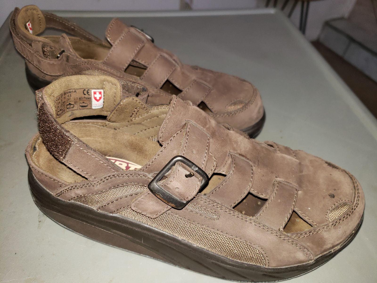MBT Swiss Engineered Closed-Toe Sandals
