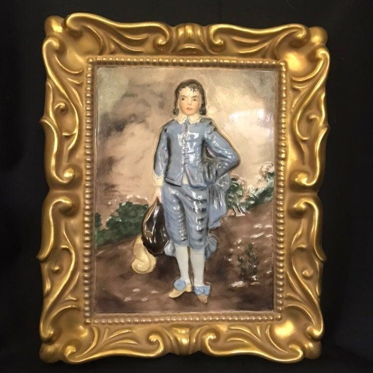 Hand Painted Wedgwood Blue Boy
