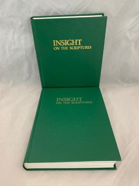 Insight on the Scriptures Volumes 1 & 2