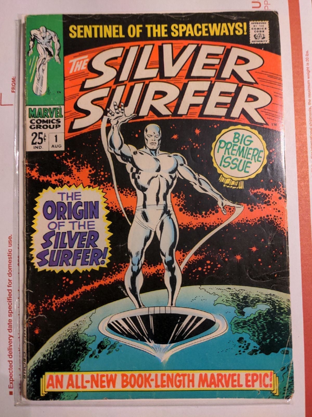 Silver Surfer 1 1968 key 1st issue