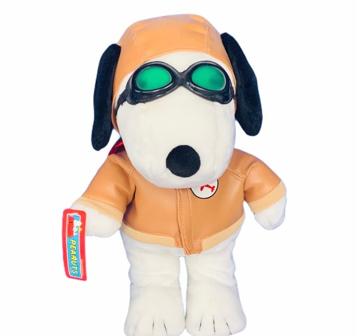 Snoopy red baron plush stuffed animal