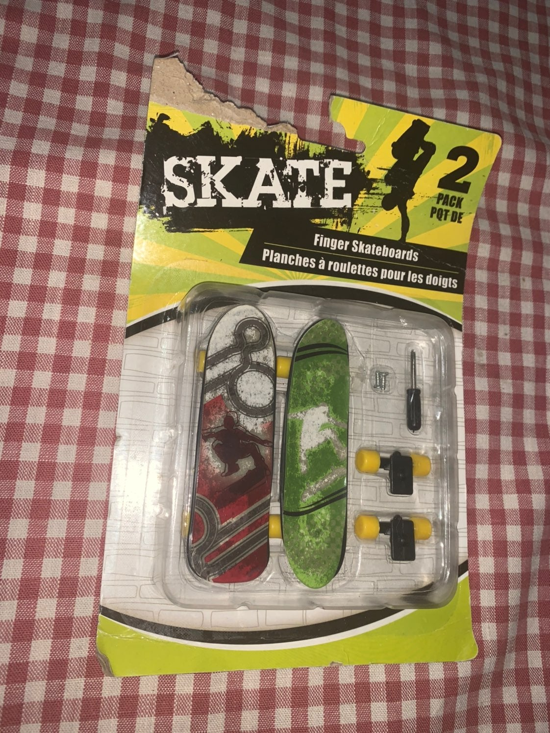Skate Finger Skateboard 2 Pack New